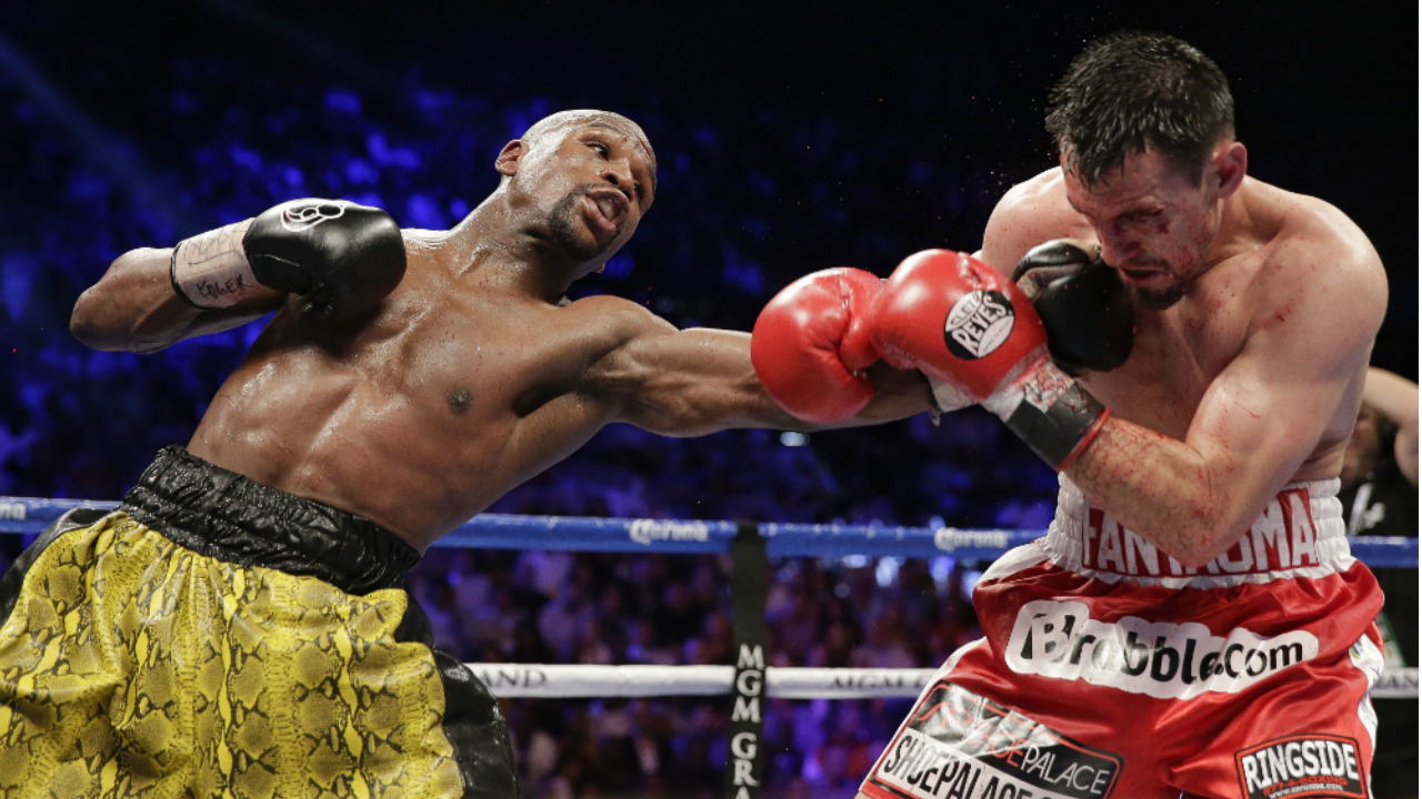 Mayweather vs Guerrero, combate de poder